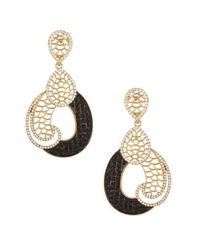 Designer Earring - NOV156 - Indian Fashion Jewellery Online