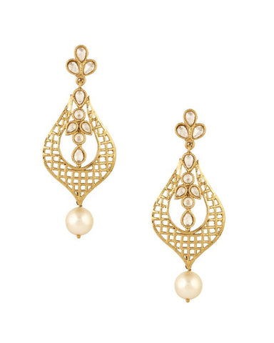Fashion Earring - NOV154 - Indian Fashion Jewellery Online