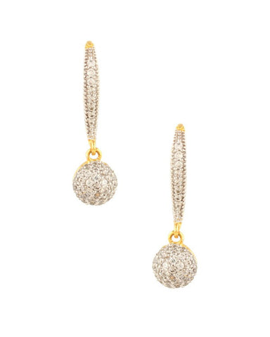 Designer Stone Earring - Indian Fashion Jewellery Online