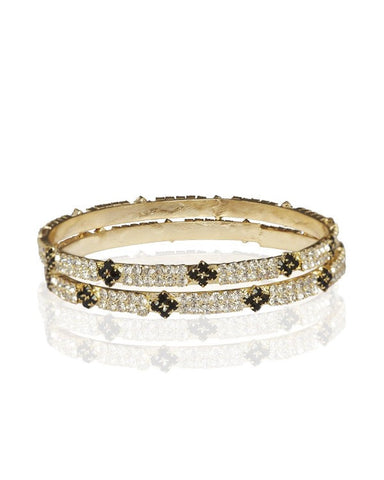 Stone Bangles Online - Indian Fashion Jewellery Online