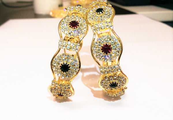 Buy Stone Bangles Online - Indian Fashion Jewellery Online - 2