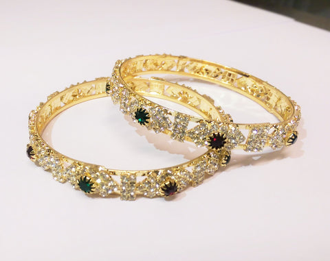 Stone Bangles - Indian Fashion Jewellery Online - 1