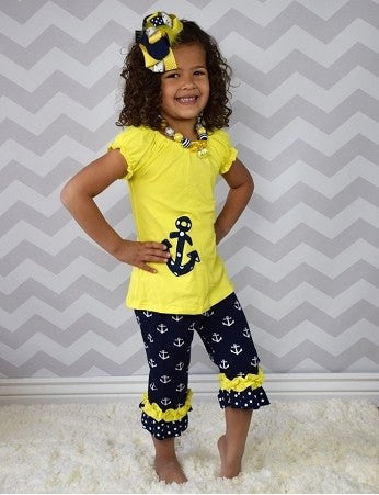 Anchors away 2pc Set