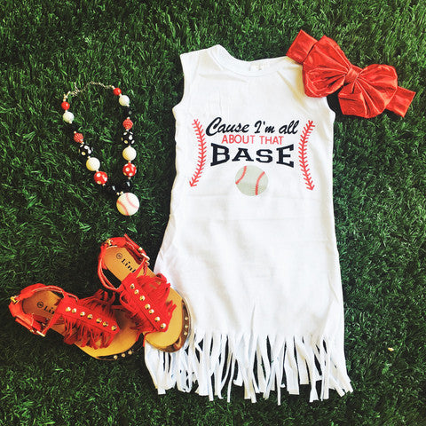 All about that Base Fringe Dress