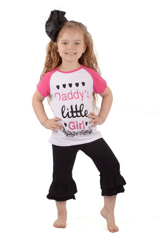 Daddys Little Girl 2 pc set