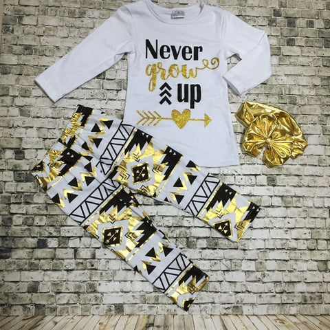 Never Grow Up 2pc Set