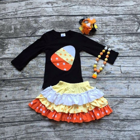 Candy Corn 2 pc Set
