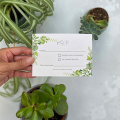 Hothouse RSVP Cards