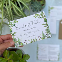 Hothouse Save the Date Cards