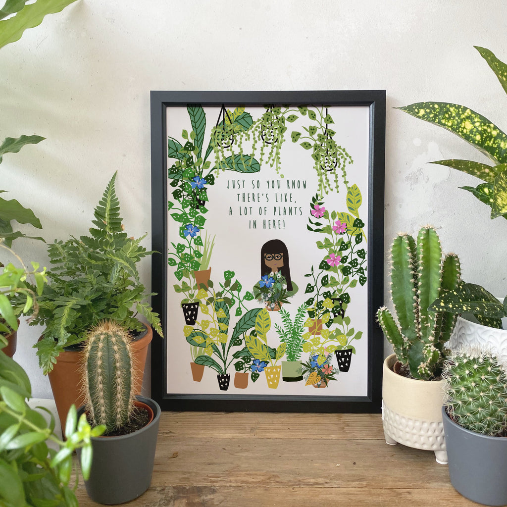 House Full of Plants Print