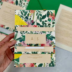 Botanical Bright Invite Bands