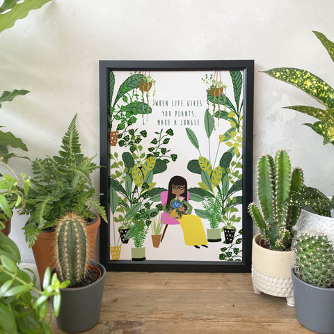When life gives you plants, make a jungle Print
