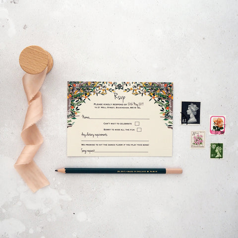 Majestic Woodland RSVP Cards