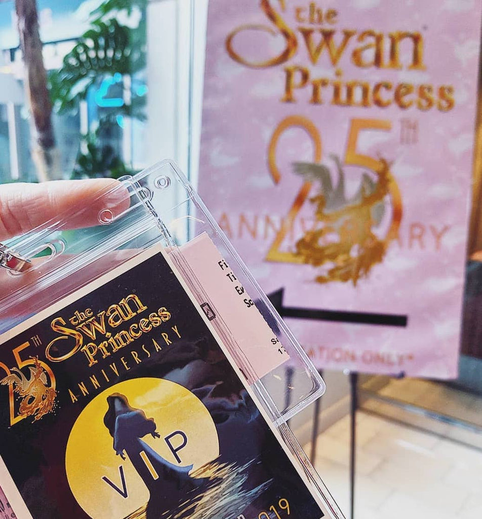 The Swan Princess 25th Anniversary Celebration