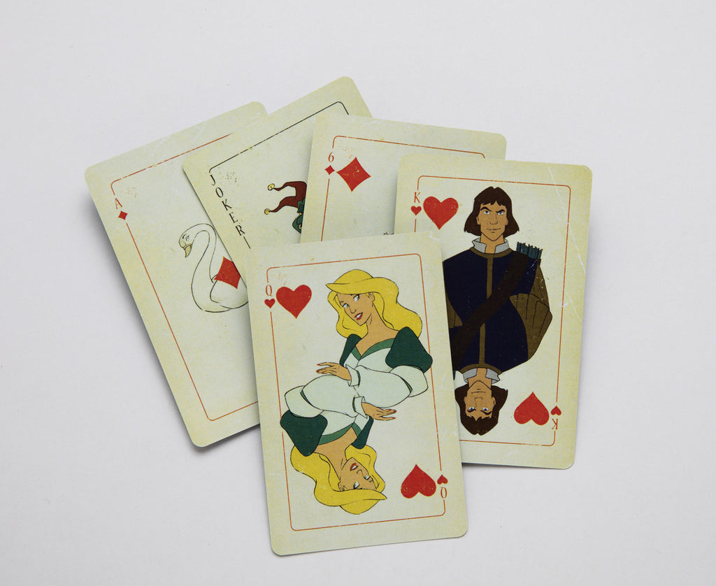 Free deck of Swan Princess playing cards