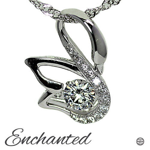 Enchanted Swan Pendant by Charmed Story