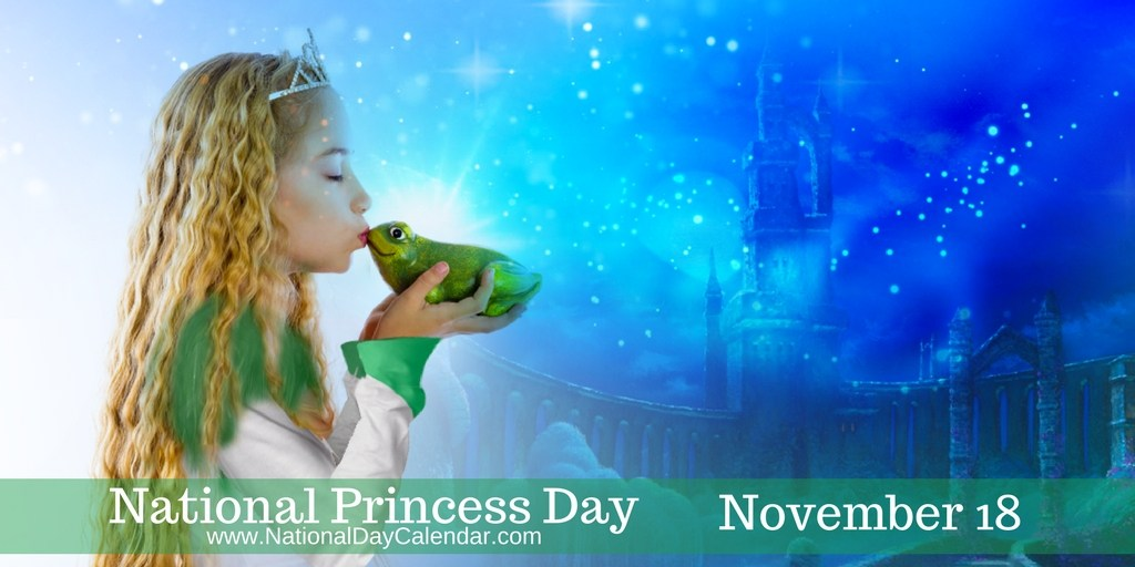 Celebrate the Princess in all of us on November 18th