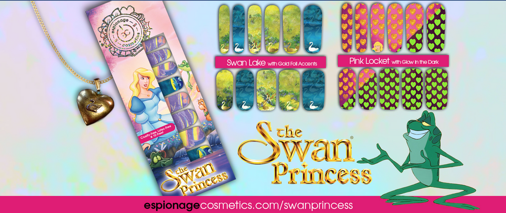 Finally...Vintage Swan Princess with Exclusive Cosmetics
