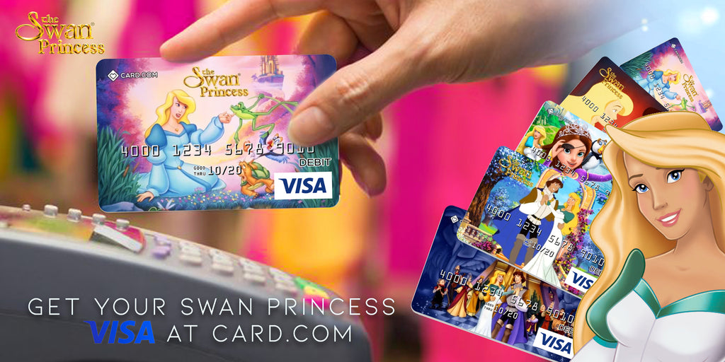 Swan Princess Debit Cards