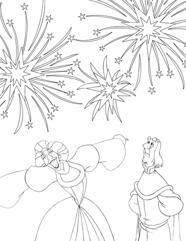 Monthly Contests and Coloring Sheets – The Swan Princess