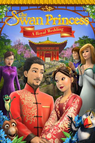 The Swan Princess A Royal Wedding DVD
