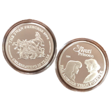 Swan Princess Commemorative Silver Coin Set of 5