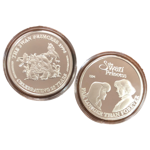 Commemorative Silver Coin - Derek and Odette Longing Look