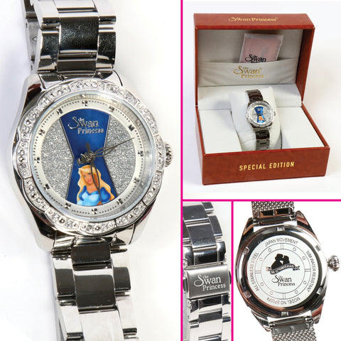 Swan Princess Limited Edition Odette Silver Watch
