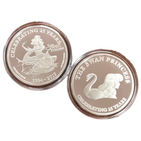 Commemorative Silver Coin - Odette Transformation