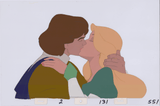 Art Cels Derek & Odette Kiss (Sequence 2-131)