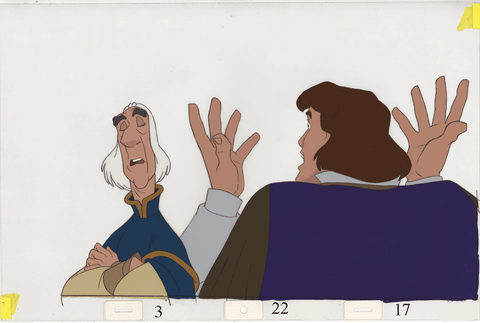 Art Cels Derek & Rogers (Sequence 3-22)