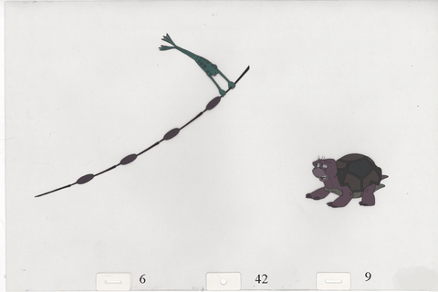 Art Cels JeanBob & Speed (Sequence 6-42 thru 6-49)