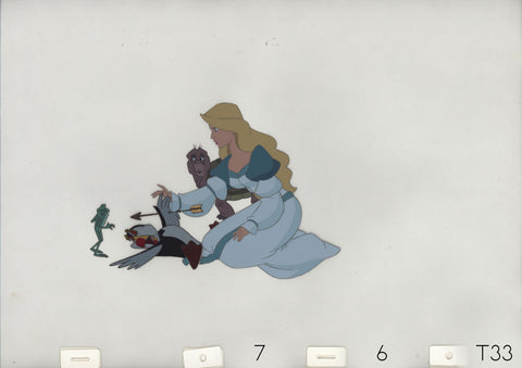 Art Cels Odette & Animals (Sequence 7-6)