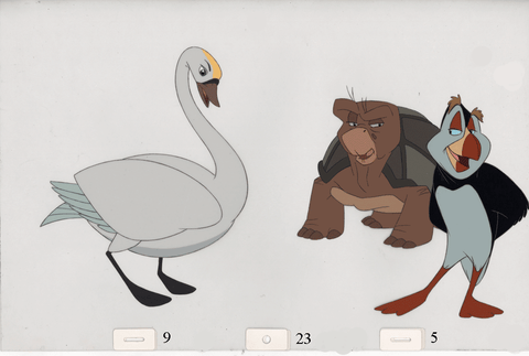 Art Cels Animals (Sequence 9-23)