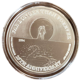 Commemorative Silver Coin - Moon Silhouette