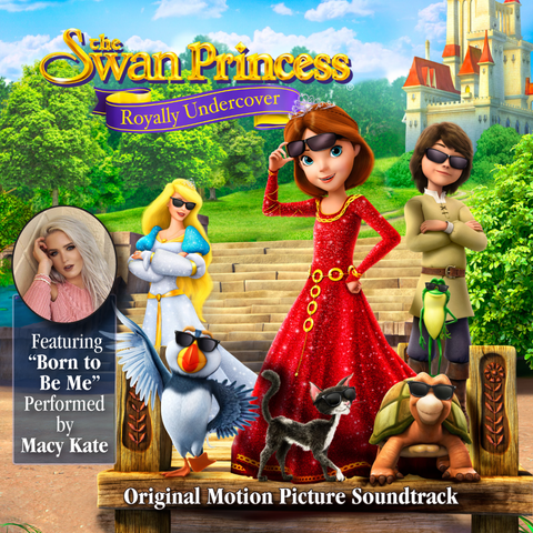 The Swan Princess Royally Undercover Soundtrack on CD
