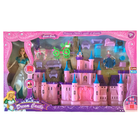Castle Toy with Princess Odette Doll