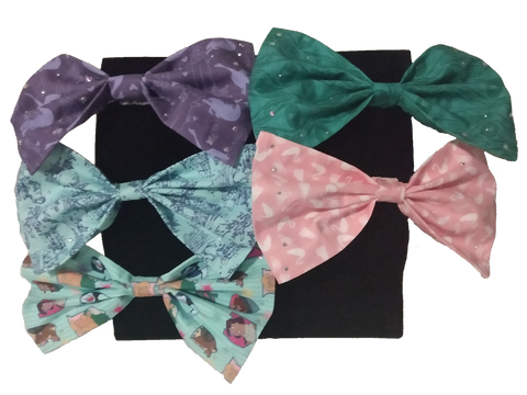 Swan Princess Hair Bow