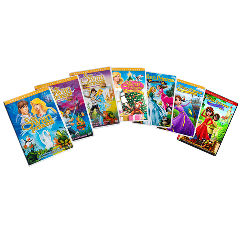7 Pack Swan Princess DVDs