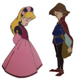 Child Derek and Odette Limited Edition Pin Set