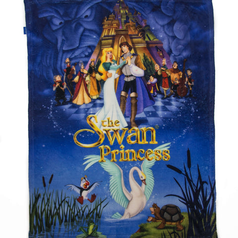 Original Swan Princess Fleece Blanket