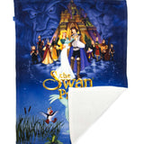 Swan Princess Fleece Blankets