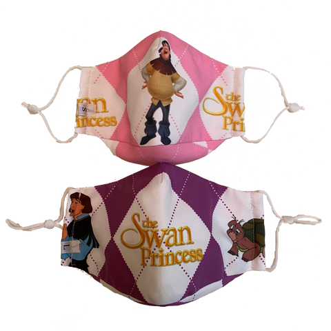 Swan Princess Fabric Masks
