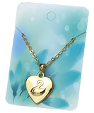 New Princess Odette Gold Heart Pendant