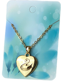 Princess Odette Gold Heart Pendant