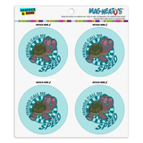 Round Magnet (4 pack)