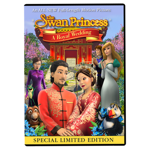 Swan Princess A Royal Wedding DVD