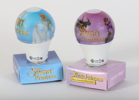 Swan Princess Lightbulbs by HueVee