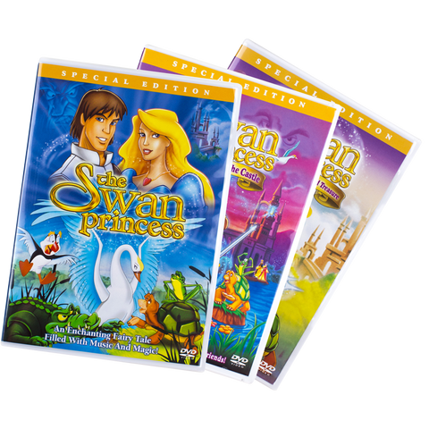 Trilogy of Swan Princess DVD