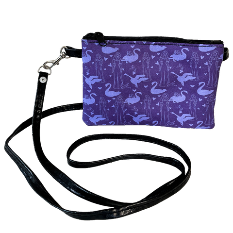 Small Crossbody Zipper Pouch